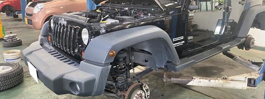 車検や点検・一般修理をはじめ重整備にも対応します!